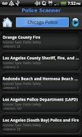 Screenshot of Police Scanner FREE