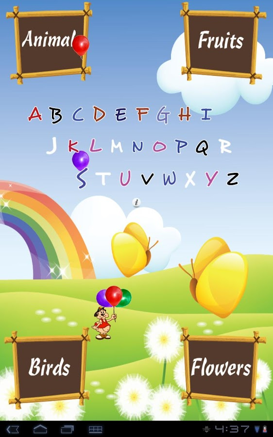A to Z for Kids- screenshot