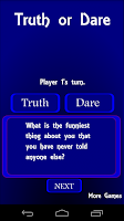 Screenshot of Truth or Dare