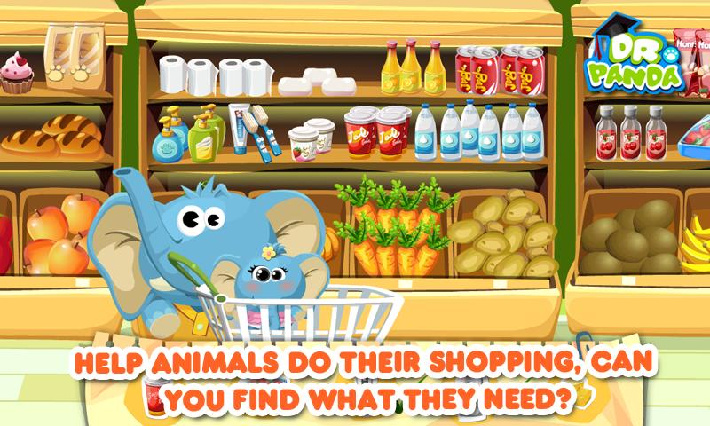 Dr. Panda's Supermarket - screenshot