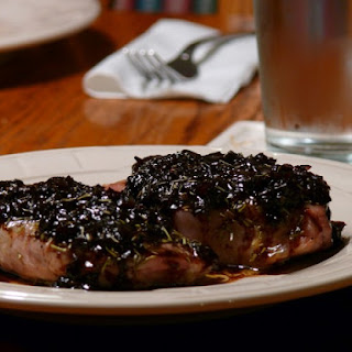 Rosemary Pork Chops With A Shallot-Balsamic Sauce