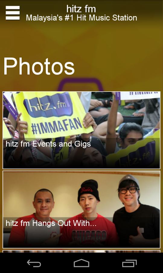 hitz.fm - screenshot