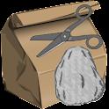 Rock, Scissor & Paper logo