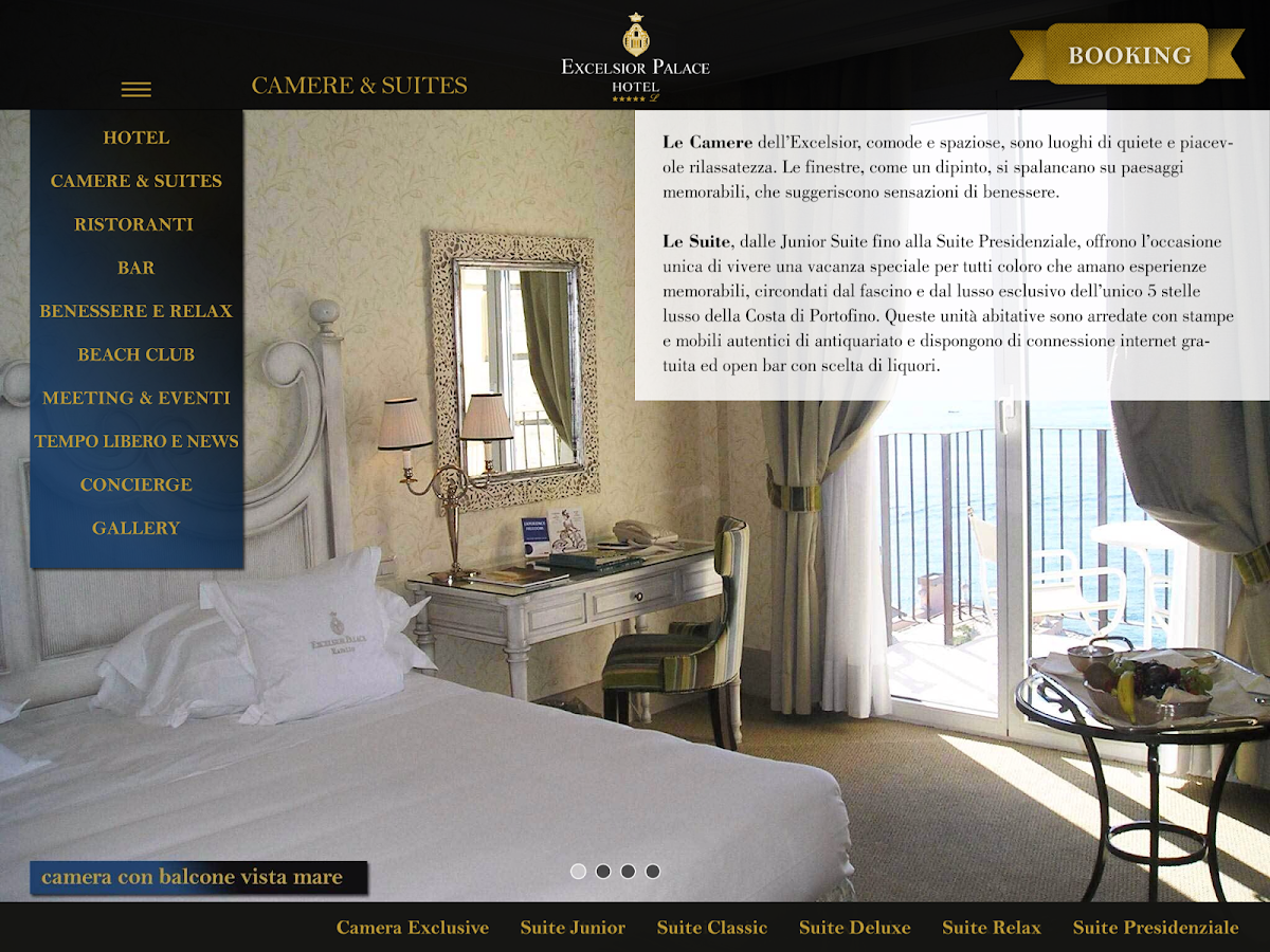 Excelsior Palace Hotel Rapallo- screenshot