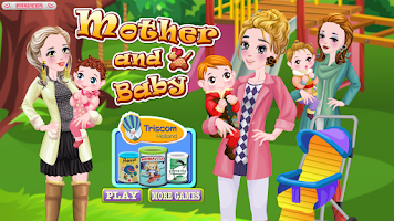 Screenshot of Mother and Baby - Baby Game