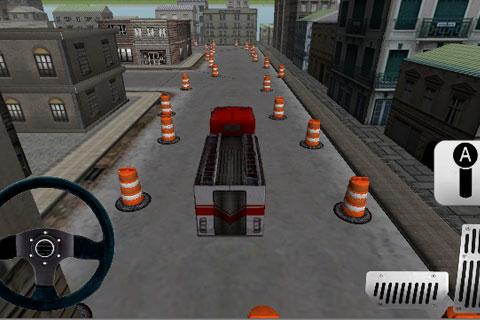 Fire Truck Parking 3D - screenshot