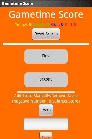 Gametime Score