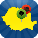 Redescopera Romania logo