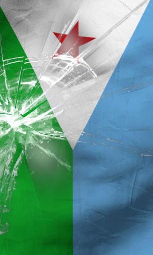 Djibouti flag live wallpaper