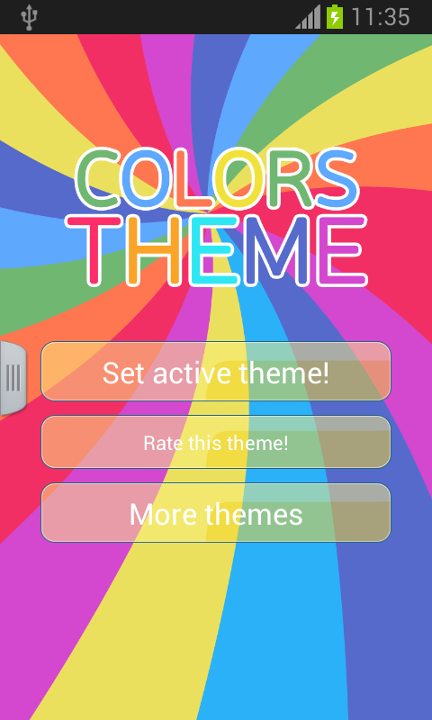 Keyboard Themes Color - screenshot