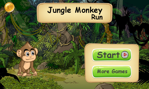 Jungle Monkey Run 1.2.3 screenshots 1