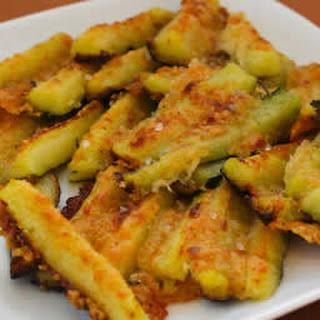 Parmesan Encrusted Zucchini