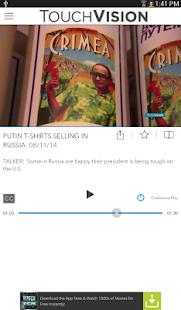TouchVision - screenshot thumbnail