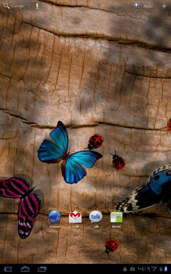 Friendly Bugs Live Wallpaper- screenshot
