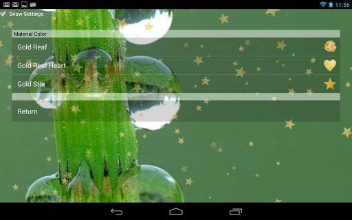 玩個人化App|舞い散る花、金箔、雪のLive壁紙免費|APP試玩