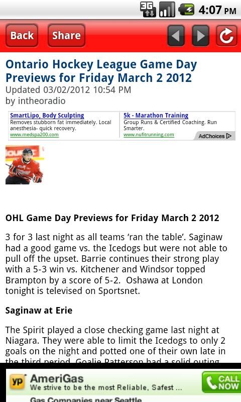 OHL Writers - screenshot