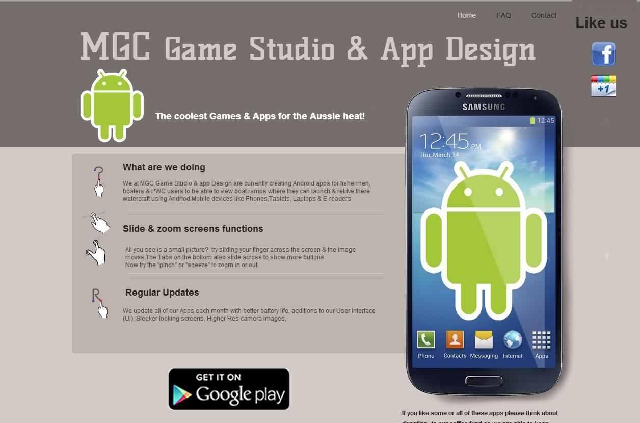 Mgc Game Studio App Design Android Apps On Google Play
