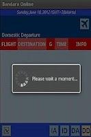 Screenshot of Bandara Online