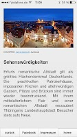 Screenshot of Erfurt App