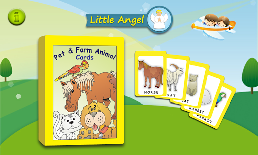 Flashcards Pet Farm Animals