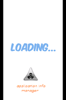 Screenshot of Application Info Manager