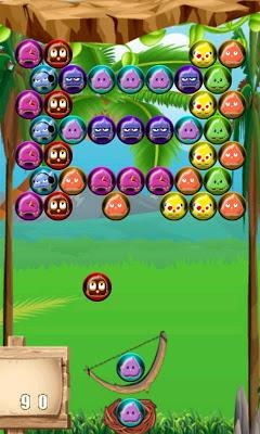 Bubble Shooter Birds - screenshot