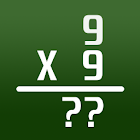 9x9 - Times Table, Math trainer icon