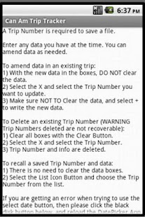 Can Am Trip Tracker- screenshot thumbnail