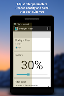 Bluelight Filter for Eye Care - screenshot thumbnail