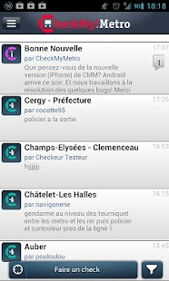 CheckMyMetro Paris- screenshot thumbnail