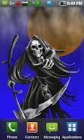 Screenshot of Grim Reaper LiveWallpaper Free