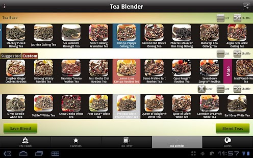 Teavana Perfect Tea Touch - screenshot thumbnail
