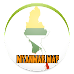 Simple Myanmar Map Offline
