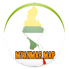 SIMPLE MYANMAR MAP OFFLINE 2019 icon