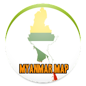 Simple Myanmar Map Offline