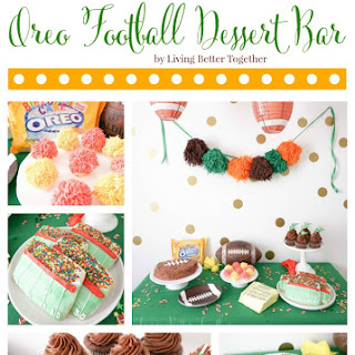 Oreo Football Dessert Bar