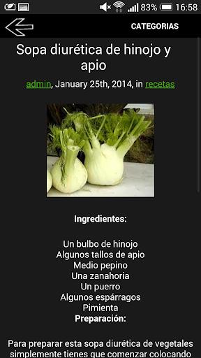 【免費健康App】Dieta de jugos y sopas-APP點子