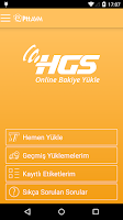 Screenshot of HGS