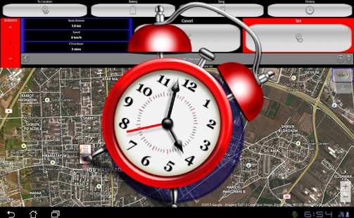 Roads alarm clock- By distance- screenshot thumbnail