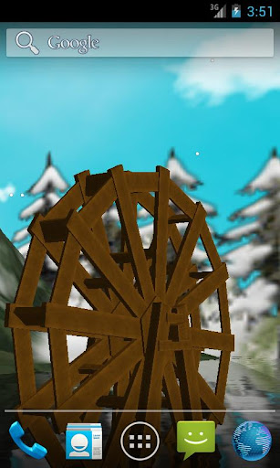 Waterwheel 2 LWP for Xmas