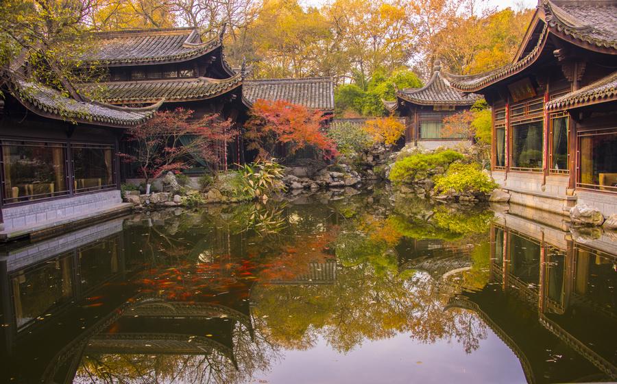杭州-花港观鱼 by Liqiang Huang - City,  Street & Park  City Parks ( hangzhou, china )