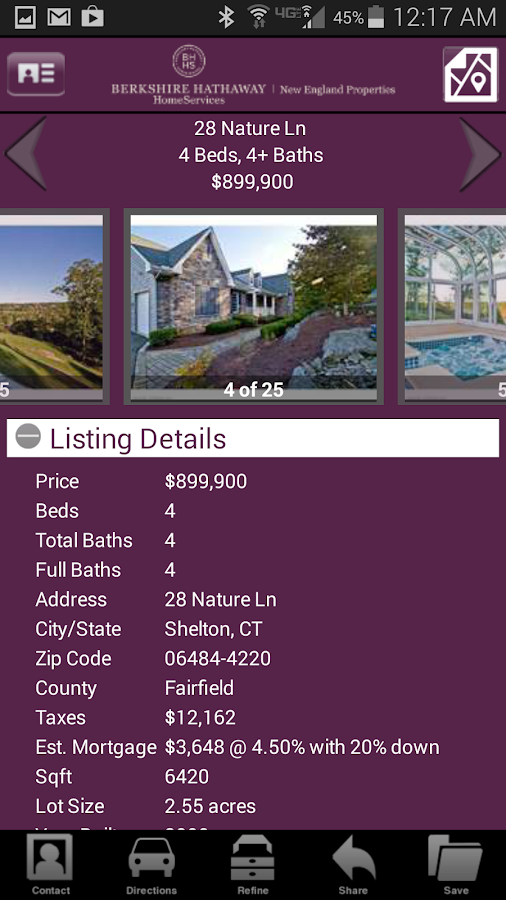 BHHS NE Properties- screenshot