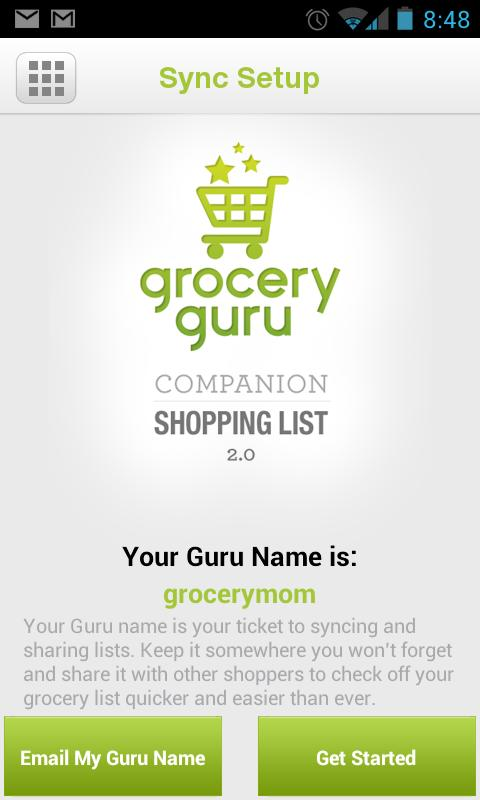 Grocery Guru - screenshot