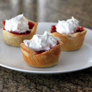 Cherry Cheese Muffin Cup Pies