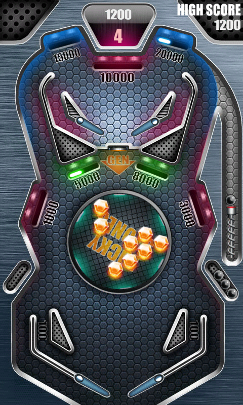 Screenshots of Pinball Pro for iPhone