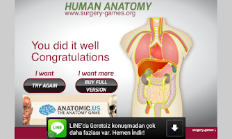 Screenshot of Human Anatomy