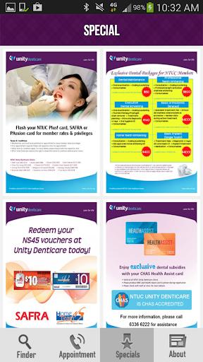 【免費醫療App】NTUC Unity Denticare-APP點子