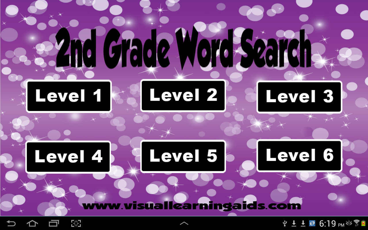 Word Search Second Grade- screenshot
