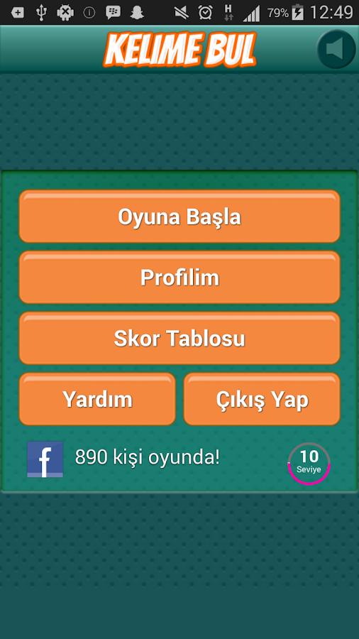 Kelime Bul - screenshot