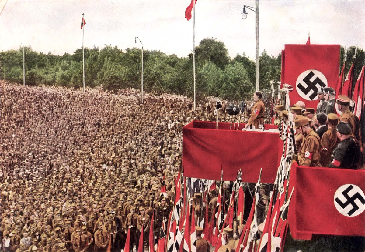 appeal to nazi germany A bbc bitesize secondary school revision resource for higher history on german national consciousness: germany the nazis adolf hitler left public appeal in.